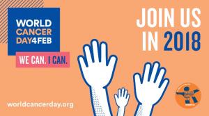Oggi 4 febbraio, si celebra la Giornata mondiale contro il cancro