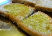 Pane e olio, un'ottima merenda per i bambini