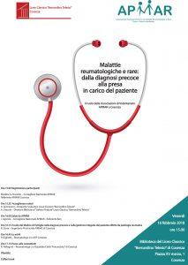 Malattie reumatologiche e rare: dalla diagnosi precoce alla presa in carico del paziente