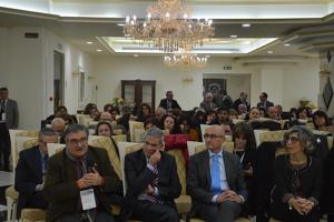 Una parte dei partecipanti del congresso Giornate mediche dello Jonio