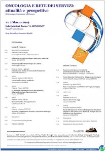 Convegno oncologico della Fondazione Lilli Funaro a Cosenza, l'1 e 2 marzo