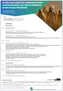 Il programma del Convegno