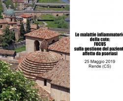 Malattie infiammatorie della cute: il 25 maggio convegno a Rende