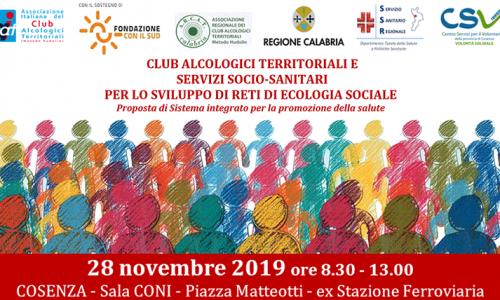 Il 28 novembre a Cosenza, convegno sulla promozione della salute